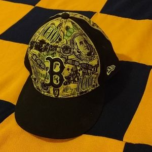 Rare Red Sox $100 Dollar New Era Cap